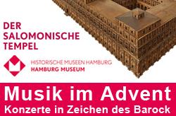 Hilaris Ensemble Hamburg Museum Der Tempel des Salomon 2015