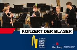 Hilaris Ensemble, Konzert der Bläser, Staatliche Jugendmusikschule Hamburg